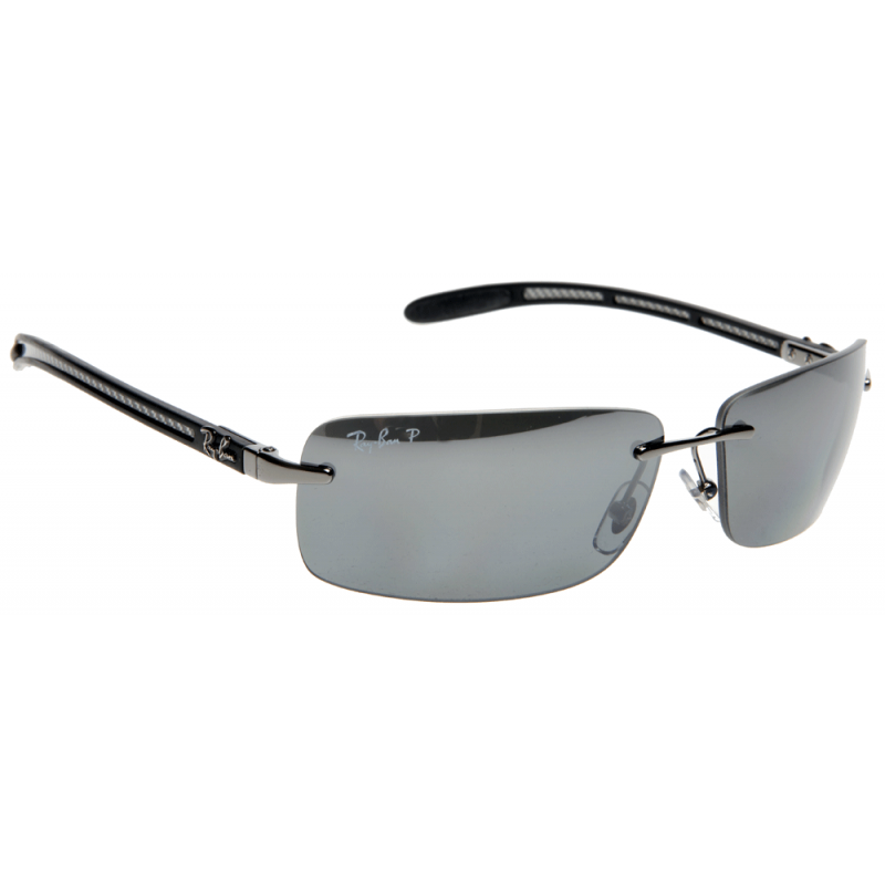 6c8b2dd85b177 ... ray ban tech polarized sunglasses  click thumbnails to enlarge. brand ray  ban. amazon ray ban rb8305 light carbon frame grey polarized lenses 63mm ...