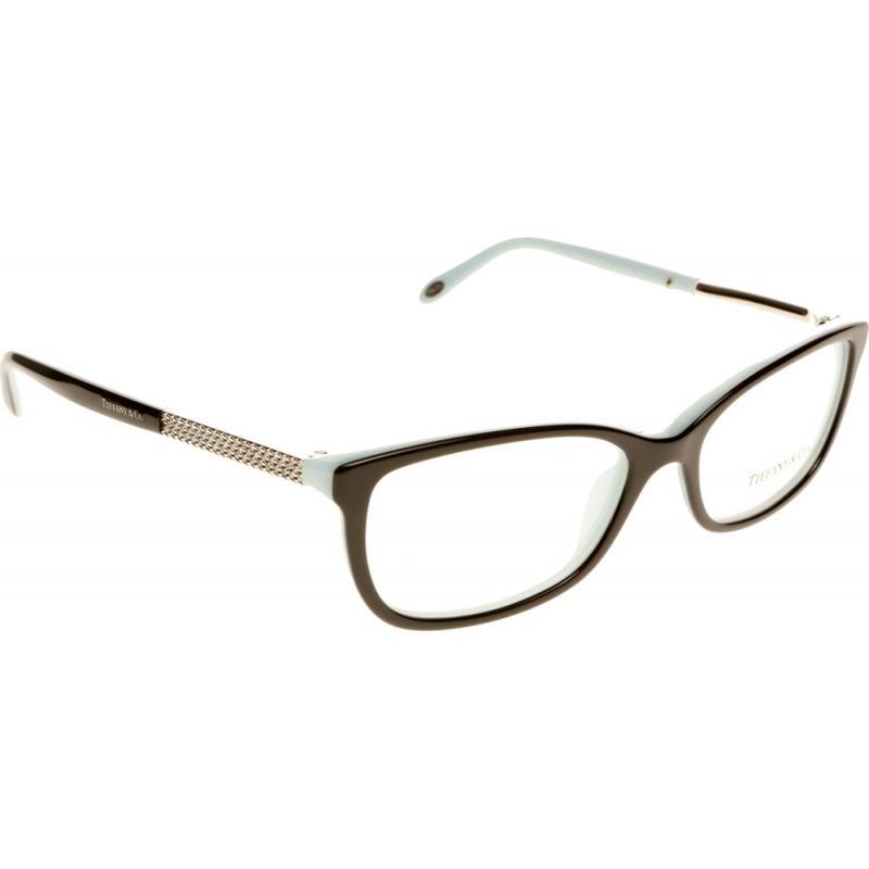 Eyeglass Frames Tiffany : New Authentic Tiffany Co TF2079B 8055 Black Blue Eyeglass ...
