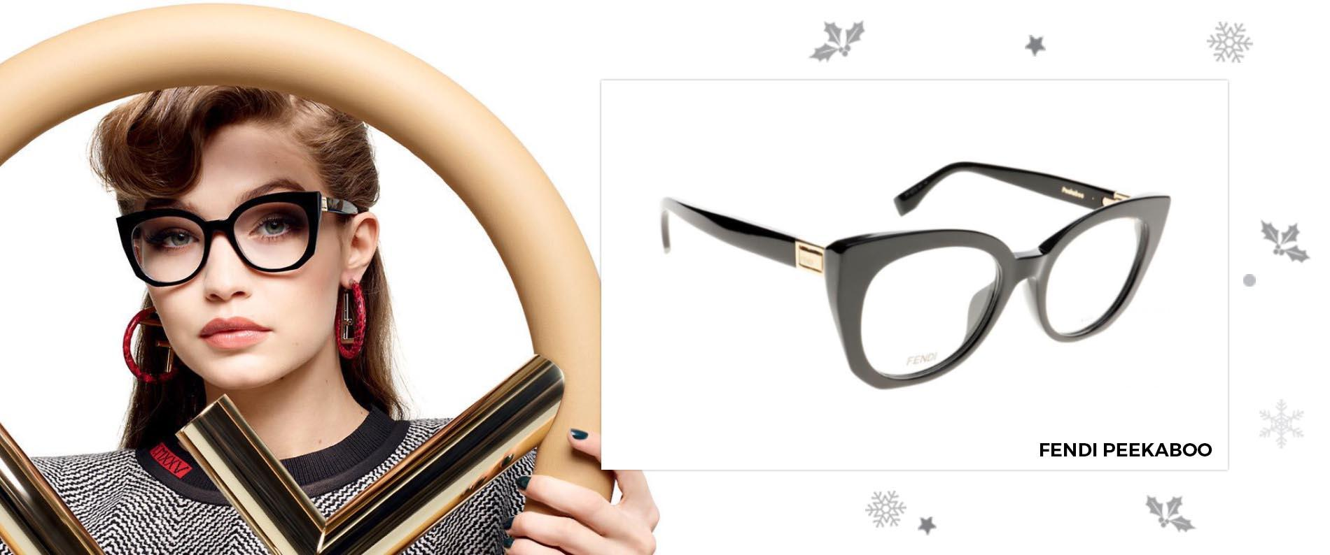 3a80865f298 Either way we ve got the glasses you need to look glam this season. Fendi  Peekaboo FF0272 807 50 ...