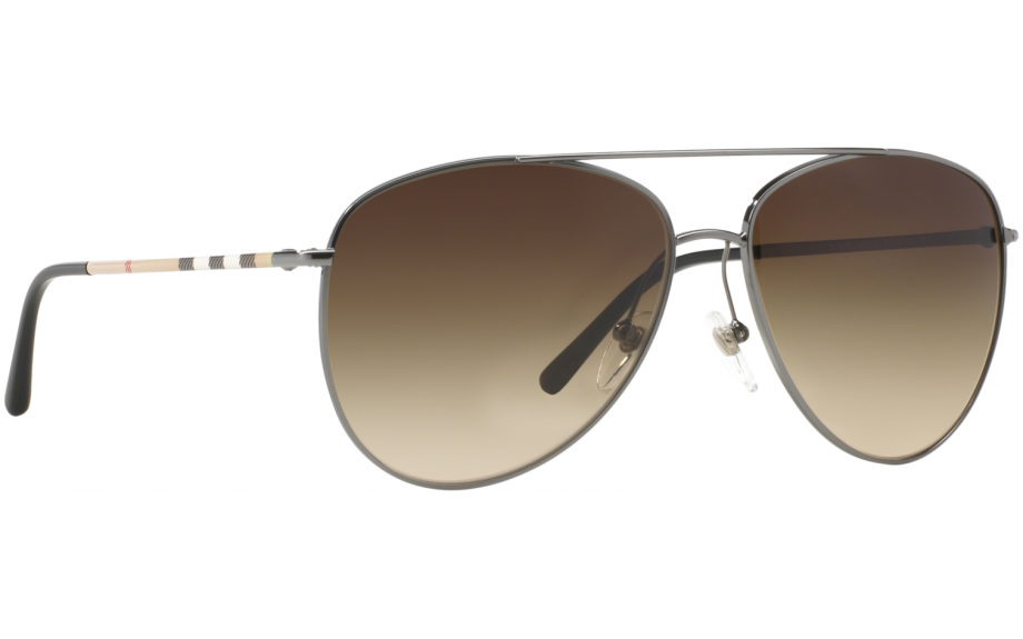 1a9909d6fe2 Burberry BE3072 100313 57 Sunglasses - Free Shipping