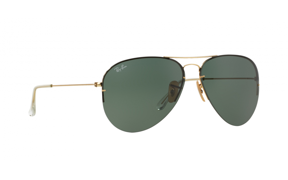 9b32dff23cc Ray-Ban Light Ray Aviator Flip Out RB3460 001 71 59 Sunglasses - Free  Shipping