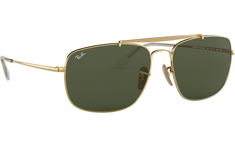 a703b12cf25b Ray-Ban The Colonel RB3560 001 61 Sunglasses - Free Shipping