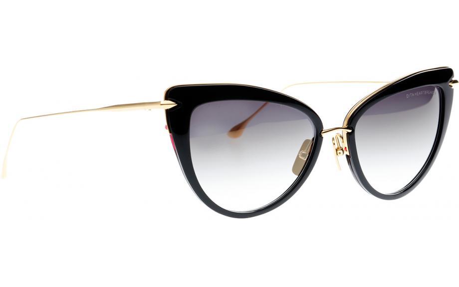 a29c09396fa Dita Heartbreaker 22027-A-BLK-GLD 56 Sunglasses - Free Shipping ...