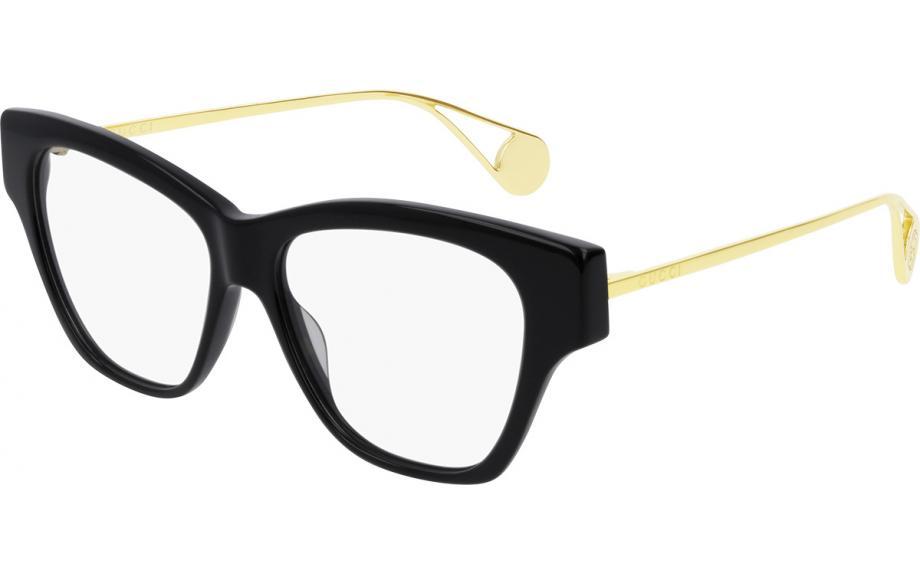 caf2d73c78e Gucci GG0438O 001 52 Glasses - Free Shipping