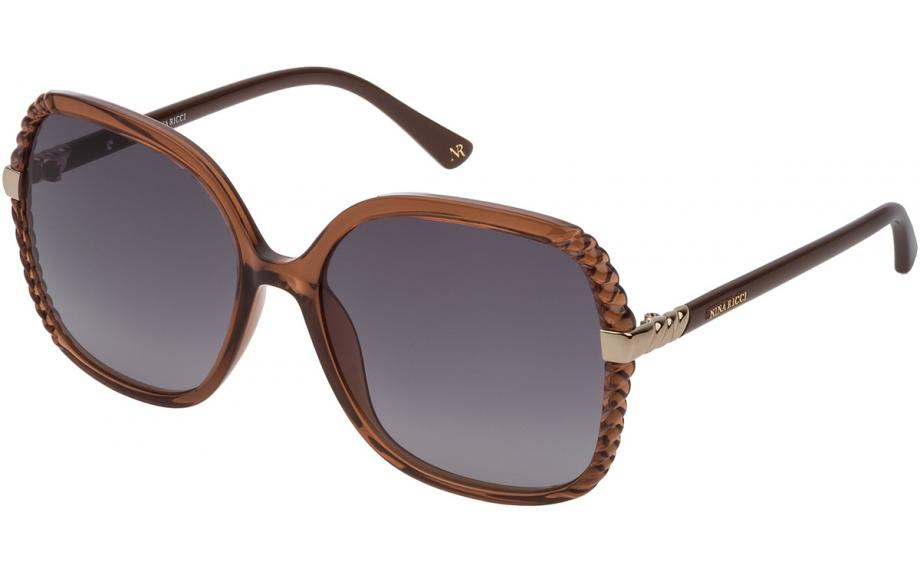 103843fcd721 Nina Ricci SNR163 06BC 59 Sunglasses - Free Shipping   Shade Station