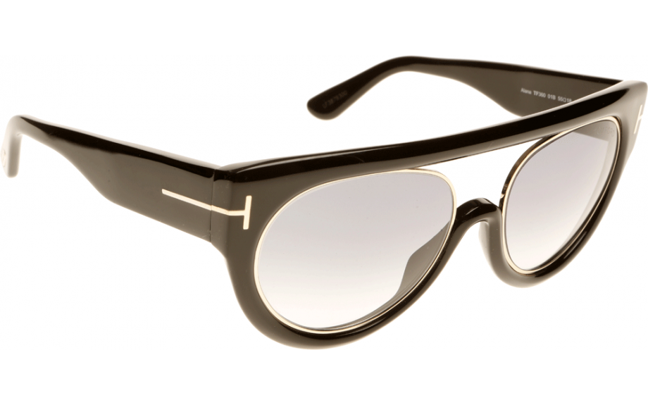 cac18a9364 Tom Ford Alana FT0360 S 01B 55 Sunglasses - Free Shipping