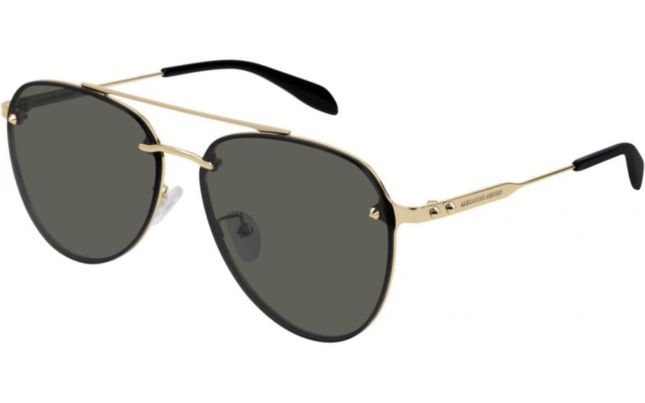 d80a427b1e16 Alexander McQueen AM0183SK 001 61 Sunglasses - Free Shipping