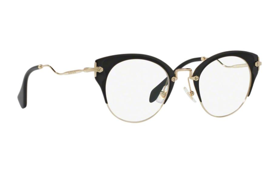 68988eeb9310 Miu Miu MU52PV 1AB101 48 Glasses - Free Shipping
