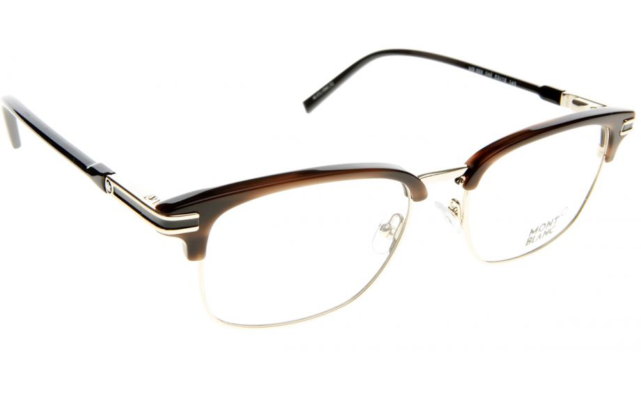 fd807ce6a7 Mont Blanc MB0669 V 048 53 Glasses - Free Shipping